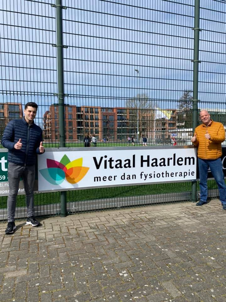 Geel-Wit en Vitaal Haarlem