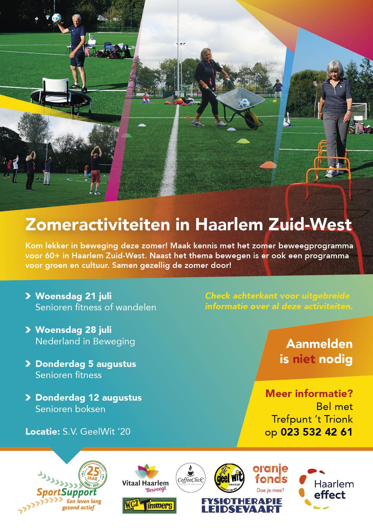 Zomeractiviteiten in Haarlem Zuid-west